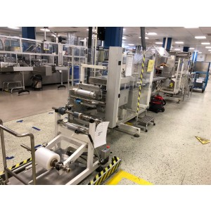 Uhlmann Blister packing and cartoning line for ampoules in PVC and PP blisters