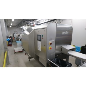Portioning and packing line