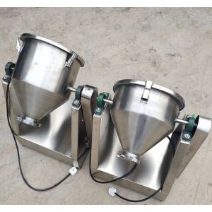 Small stainless Rotary Flat Cone Blender for Research From China