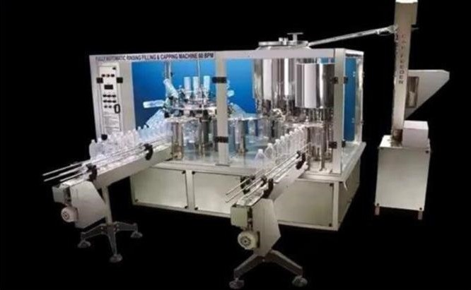 High Speed Rising, Filling & Capping Machine