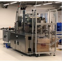Pester PEWO-fold 1 overwrapping machine for single cartons and carton collation