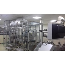 Complete blister packing line for tablets & capsules with Uhlmann UPS 3MT and C200 cartoner