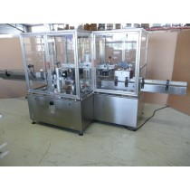 Neri SL 200 3T container labelling machine for front, back and neck