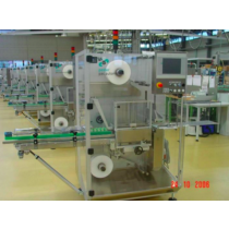 Find used Stretch wrapping machine for single or multiple packages using PE film