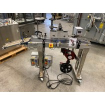 Contact (K-D Hermann GmbH) S80 self-adhesive labeller for cartons (vignettes, bollini, etc)