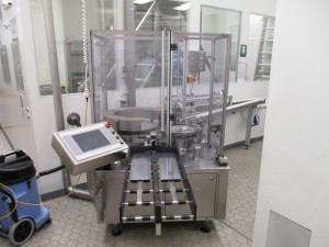 Bausch + Stroebel ACM1005 ring coding machine for ampoules